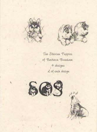 Puppies Note Cards